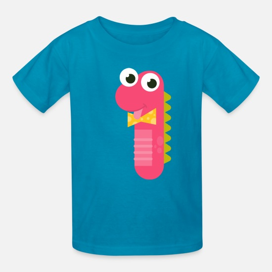 Number 1 Monster 1st Birthday 1 Year Old Kids T Shirt Spreadshirt
