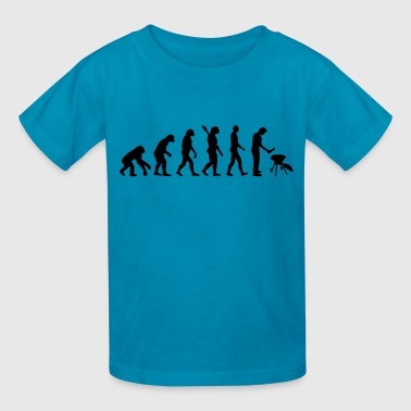 Evolution BBQ - Kids' T-Shirt