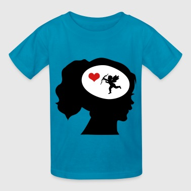 Only Love On My Mind - Kids' T-Shirt