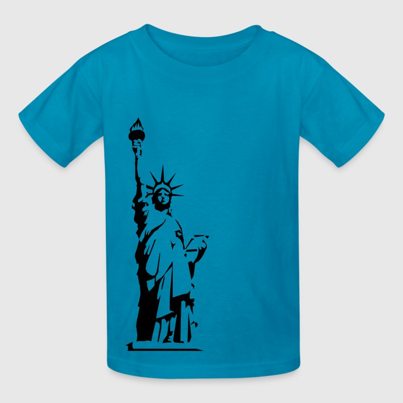 Statue of Liberty - VECTOR - Kids' T-Shirt