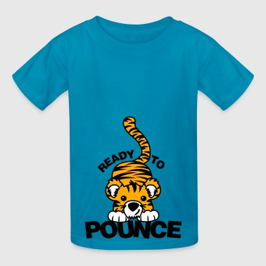 Ready to Pounce - Kids' T-Shirt