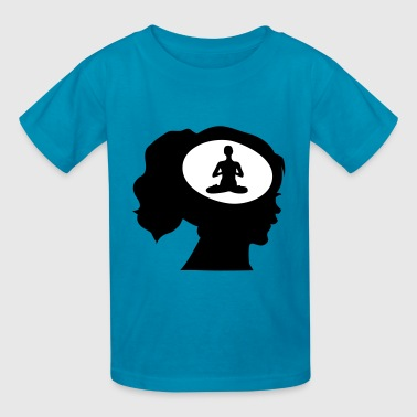 Only Meditation On My Mind - Kids' T-Shirt