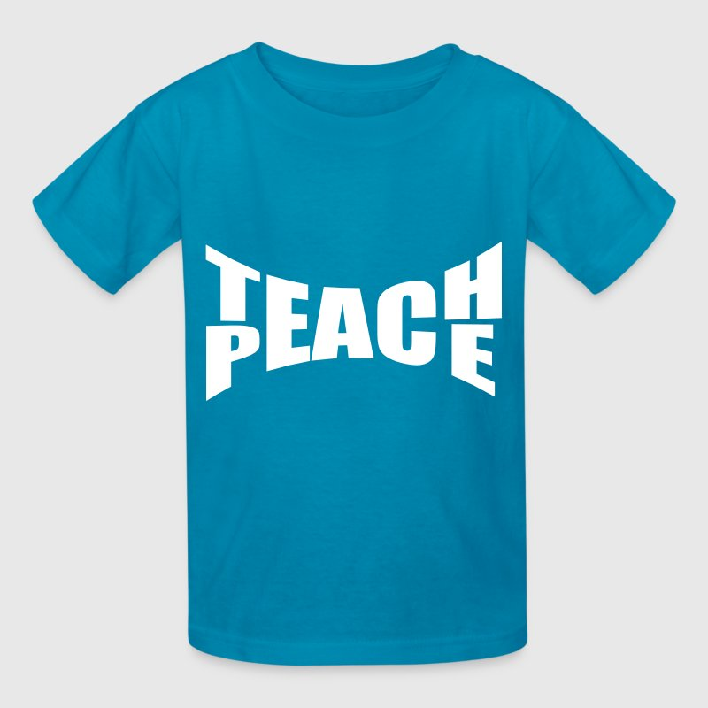 Teach Peace - Kids' T-Shirt