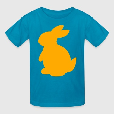 cute rabbit shape left - Kids' T-Shirt