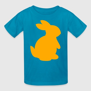 cute rabbit shape right - Kids' T-Shirt