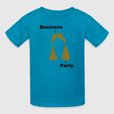 mullet_design - Kids' T-Shirt