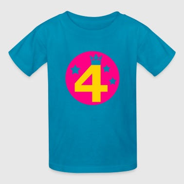 Birthday 4 four - Kids' T-Shirt
