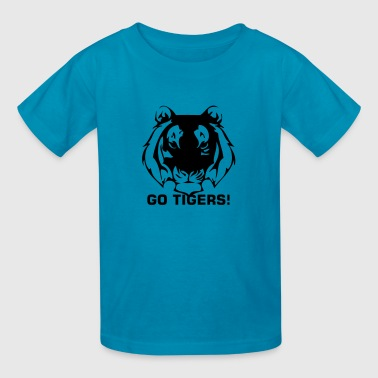 tiger custom sport - Kids' T-Shirt