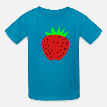 Strawberry a strawberry - Kids' T-Shirt