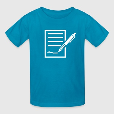 Contract - Kids' T-Shirt