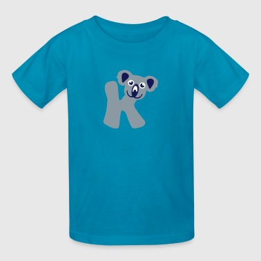 koala letter k animals - Kids' T-Shirt