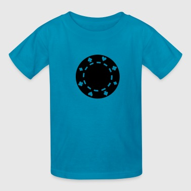 Poker chips - Kids' T-Shirt