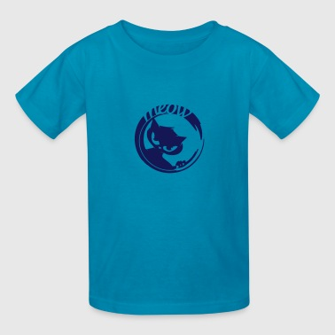 cat with dangerous eyes - Kids' T-Shirt