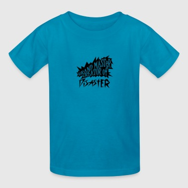 grand master creator of disaster (1c) - Kids' T-Shirt