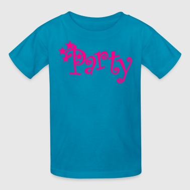 party! with stars - Kids' T-Shirt