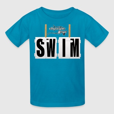 'Swim' Lap Counter - Kids' T-Shirt