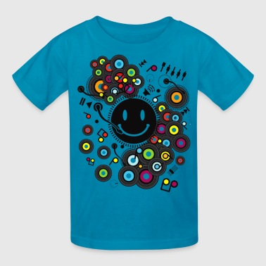 Funny_Record - Kids' T-Shirt