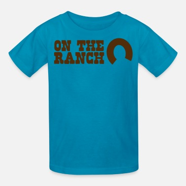Ranch Horse on the ranch - Kids' T-Shirt