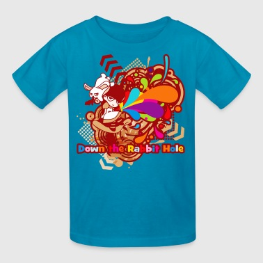 Down the Rabbit-Hole - Kids' T-Shirt
