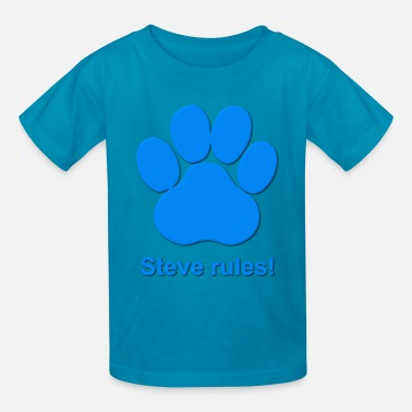 Blues Clues Steve Rules - Kids' T-Shirt