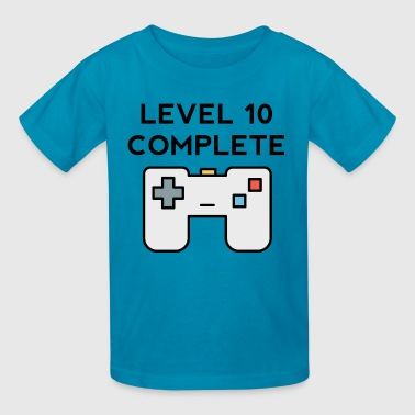 Level 10 Complete 10th Birthday - Kids' T-Shirt