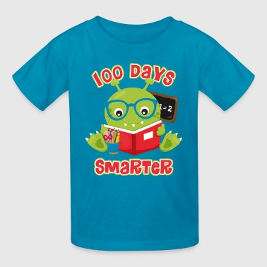 100 Days Boy Monster - Kids' T-Shirt