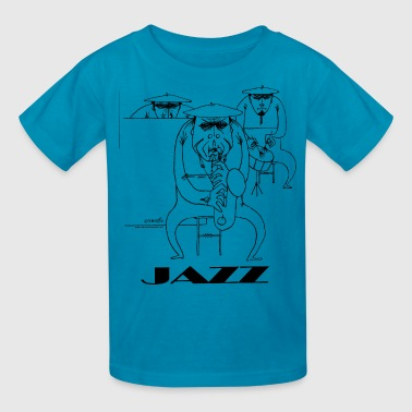 Jazz players - Kids' T-Shirt