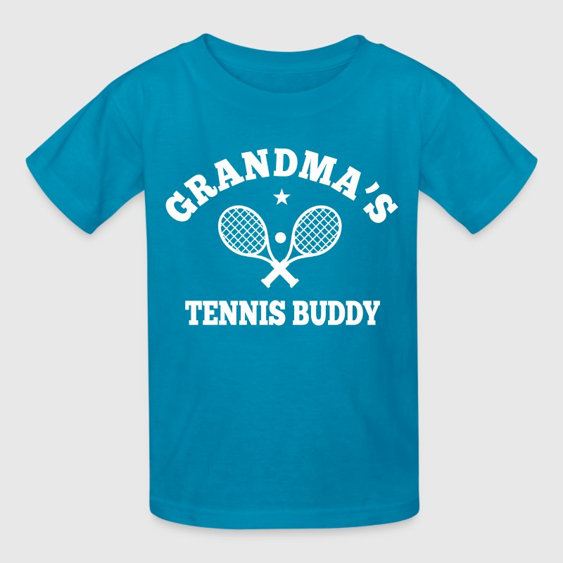 Grandma's Tennis Buddy - Kids' T-Shirt