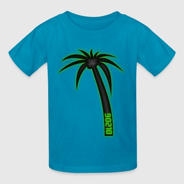 90210 Palm Tree - Kids' T-Shirt