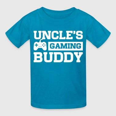 Kids Video Games Uncles Gaming Buddy - Kids' T-Shirt
