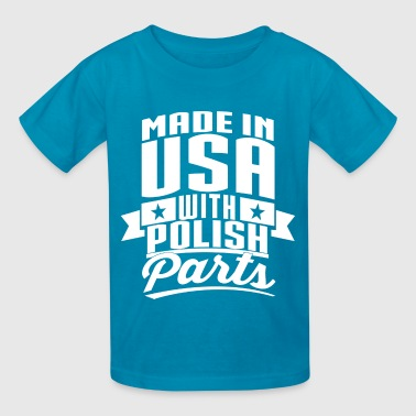 American Polish - Kids' T-Shirt