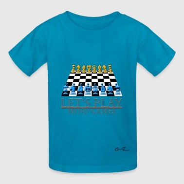 LetsPlay - chess - Kids' T-Shirt