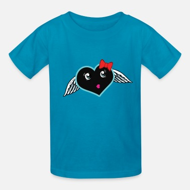 Youtuber Angels June Asai Kokoro Angel Mascot - Kids' T-Shirt