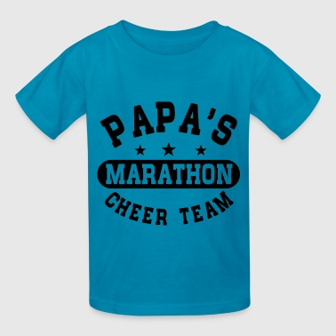 Papas Marathon Cheer Team - Kids' T-Shirt