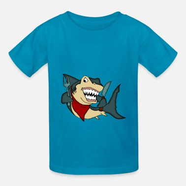 Hungry Shark Hungry Shark - Kids' T-Shirt