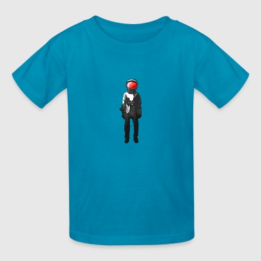 red head - Kids' T-Shirt