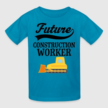 Future Construction Worker Bulldozer - Kids' T-Shirt