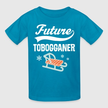Future Tobogganer Childs Sled - Kids' T-Shirt