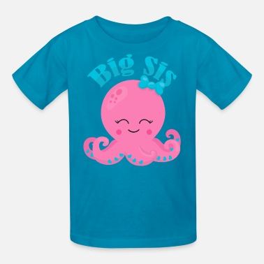 Big Sis Cute Octopus Big Sis - Kids' T-Shirt