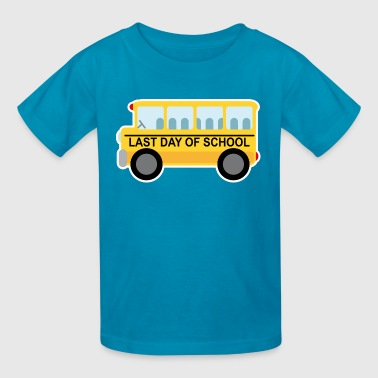 Last Day of School Bus - Kids' T-Shirt