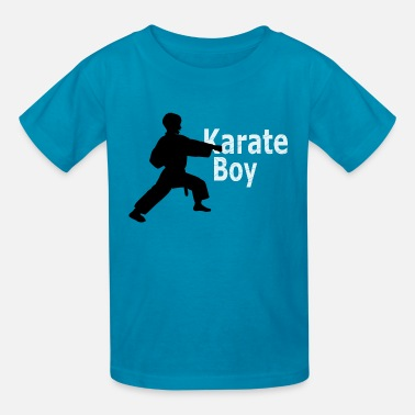 Kids Karate Karate Boy Kids T-shirt - Kids' T-Shirt
