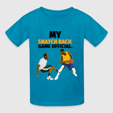 Snatch back Basketball design - Kids' T-Shirt