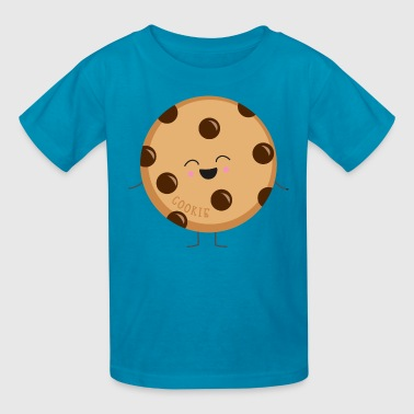 Chocolate Chip Cookie Cookie Costume - Kids' T-Shirt