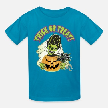Bride Of Frankenstein Bride of Frankenstein Skull - Kids' T-Shirt