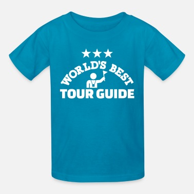 Best Tour Guide In The World Tour guide - Kids' T-Shirt