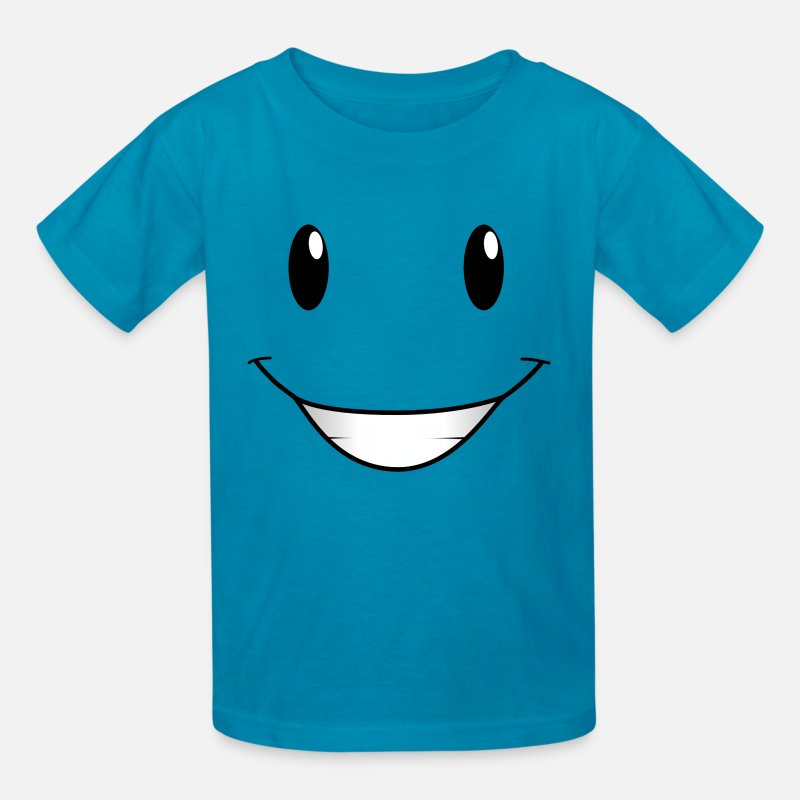 Face T-Shirts - Face From Nick Junior - Kids' T-Shirt turquoise