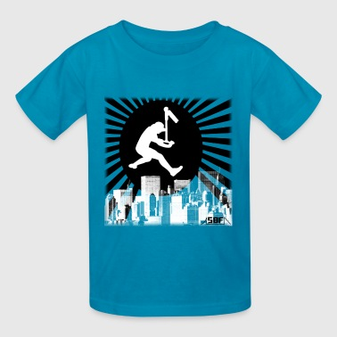 scooter city - Kids' T-Shirt
