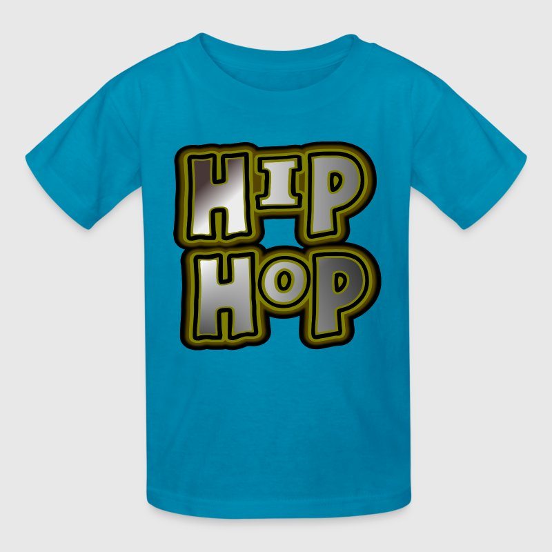 Hip Hop, Large, With Metallic Effects--DIGITAL DIRECT PRINT - Kids' T-Shirt