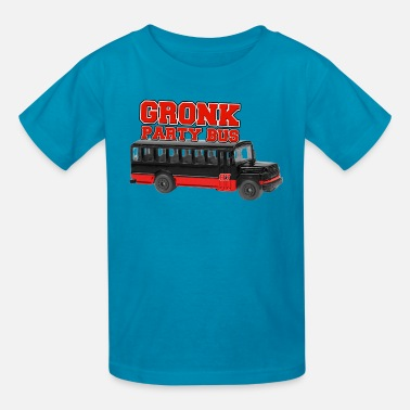 Get Gronked Rob Gronkowski Gronk Party Bus - Kids' T-Shirt