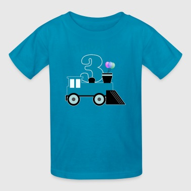 Birthday Boy Train - Kids' T-Shirt